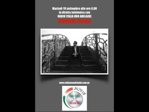 Radio Italia Uno Adelaide intervista Corrado Coccia
