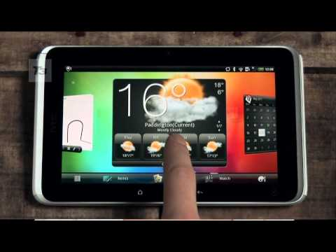 HTC Flyer hands-on video