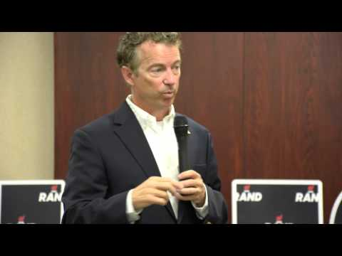 Rand Paul's Response to Iowa Farmers on Eminent Domain for Pipelines