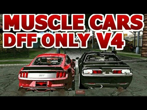 Top 10 Best Gta San Andreas ANDROID: Muscle Cars Dff Only No Txd V4
