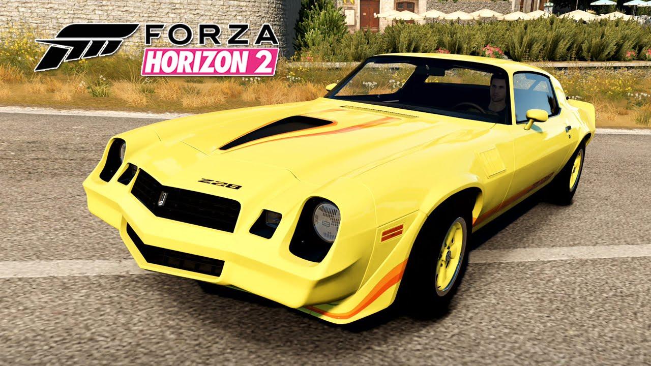 Forza horizon 2 16 chevrolet camaro z28 1979 xbox one pt 1080p youtube