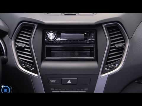Metra Hyundai Santa Fe SPORT 2013 & up kit 95 / 99-7354B