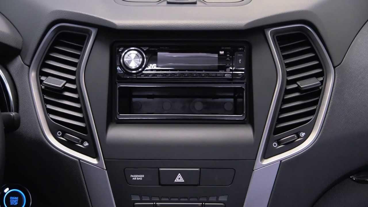 Metra Hyundai Santa Fe Sport 2013 Up Kit 95 99 7354b Youtube Car Amp Wiring Harness Factory