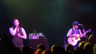 """Burning Bright"" Smith & Myers of Shinedown@TLA Philadelphia 12/10/15 Acoustic Tour"