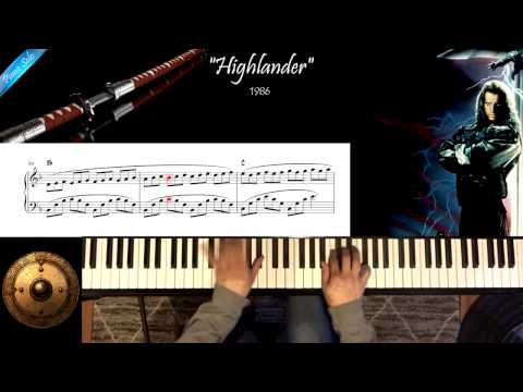 Highlander - Michael Kamen - Piano Solo Cover