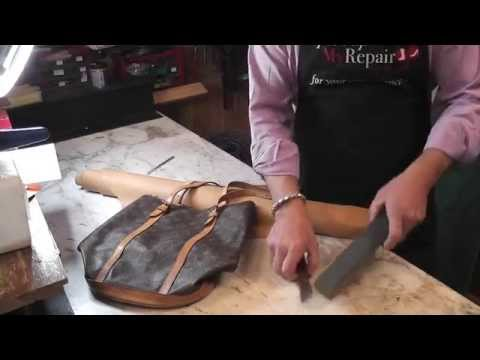 Louis Vuitton Handbag Repair Replacing The Lining On A Bag