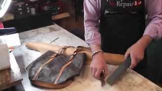 Louis Vuitton Handbag Repair - Replacing the lining on a Louis Vuitton bag
