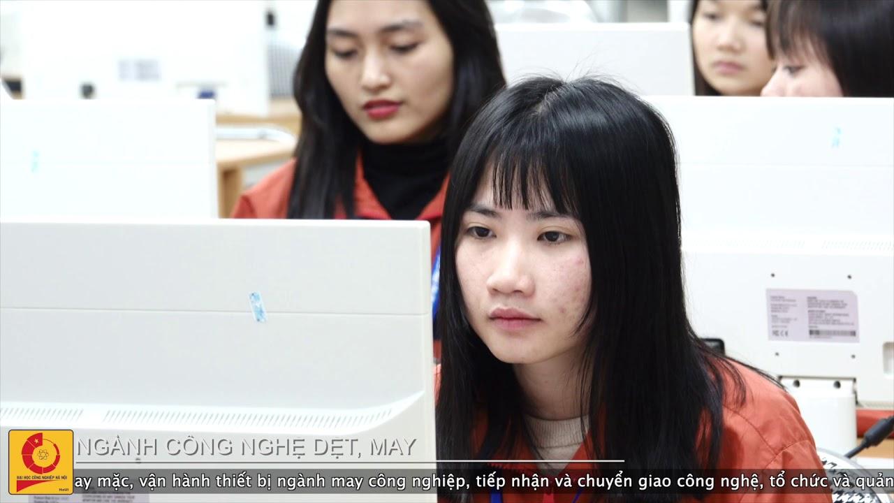 Ngành Công nghệ dệt, may | Đại học Công nghiệp Hà Nội