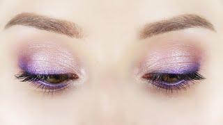 Макияж глаз для начинающих I Подробный урок макияжа 2020