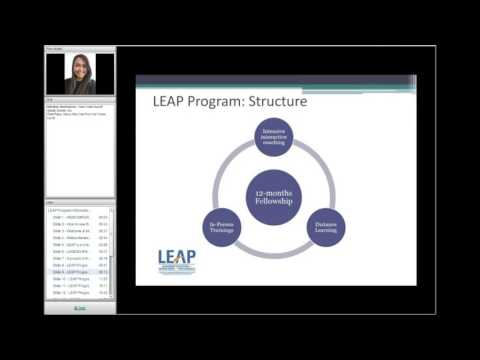 LEAP Program Information Session Web conference