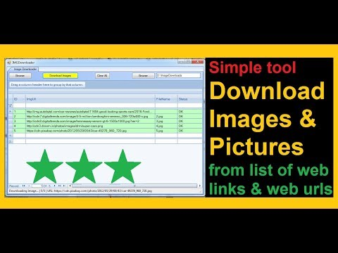 Download all images from website java