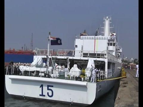 INDIAN COAST GAURD SHIP SHAUNAK WELCOME TO CHENNAI|COAST GAURD REGION EAST