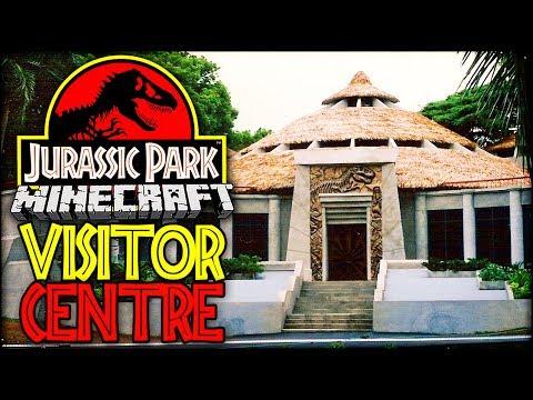 Let's Build Jurassic Park | THE VISITOR CENTRE (Minecraft Dinosaurs Part 17)