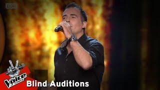 Γιάννης Τσίλης - Η νύχτα μυρίζει γιασεμί   12o Blind Audition   The Voice of Greece