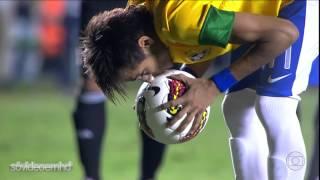 Gols - Brasil 2 x 1 Argentina - Superclássico das Américas 2012 - 19/09/2012 - Globo HD