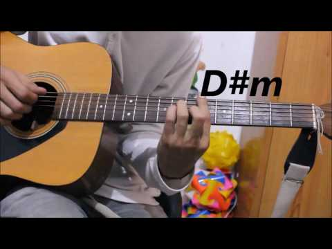 1 Romantic Hindi/Punjabi mix Song - Guitar cover lesson chords hindi