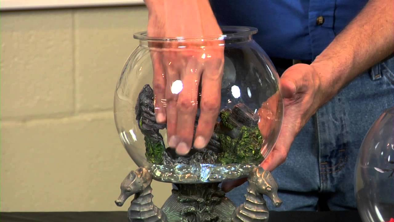 Cute fish bowl ideas aquariums fish tanks youtube for How to make a fish bowl
