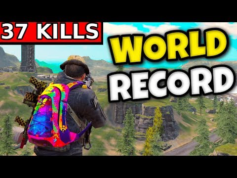 "Download 37 KILLS ""WORLD RECORD"" Solo vs Squads 