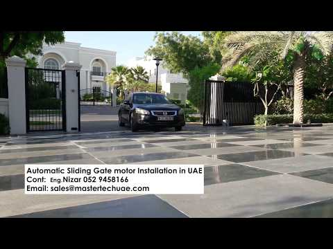 Gate Automation - Sliding Gate Motor in Emirates Hills Dubai, UAE