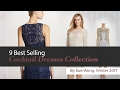 9 Best Selling Cocktail Dresses Collection By Sue Wong, Winter 2017