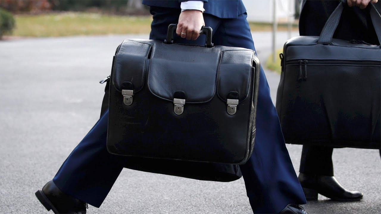 How does a nuclear suitcase work