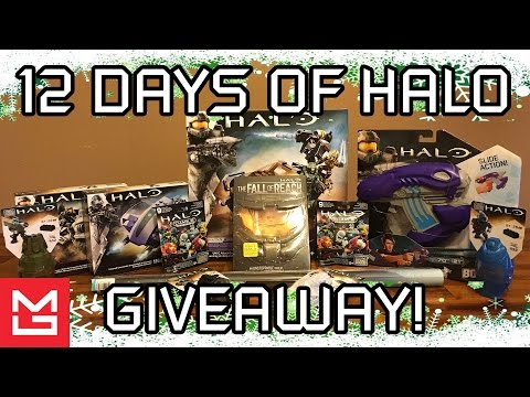 12 Days of Halo 5 | Daily Giveaway Announcement! (12 Days of Christmas Giveaway)