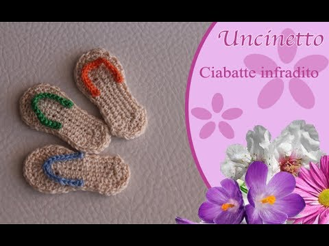 Ciabatte Schema Free Tutorial Crochet Infradito Gratis Uncinetto UVLSpzMGjq