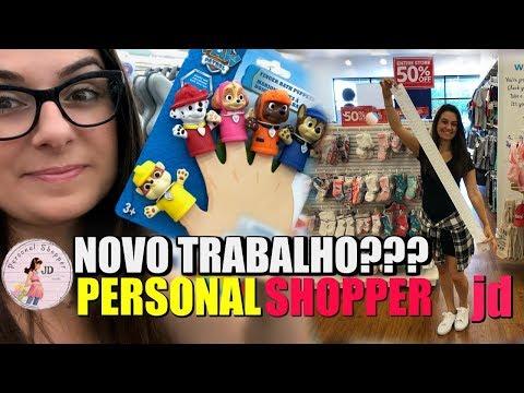 Personal Shopper JD O que é? Trabalho novo? De novo???