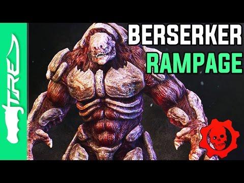 BERSERKER RAMPAGE! - Gears of War 3 BEAST MODE Multiplayer Gameplay (Gears of War 3 Beast Mode)