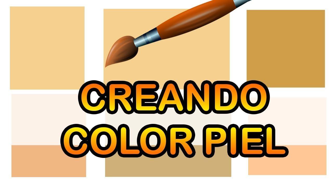 C mo hacer color piel en diferentes tonalidades artgio for Como hacer el color gris en pintura
