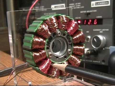Bedini High Voltage Without D.C. Power Supply - YouTube