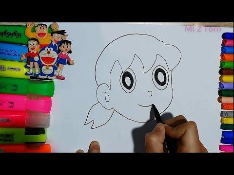 Hack Xuka – Vẽ Xuka thật đơn giản | Hack Shizuka – Drawing Shizuka Easily