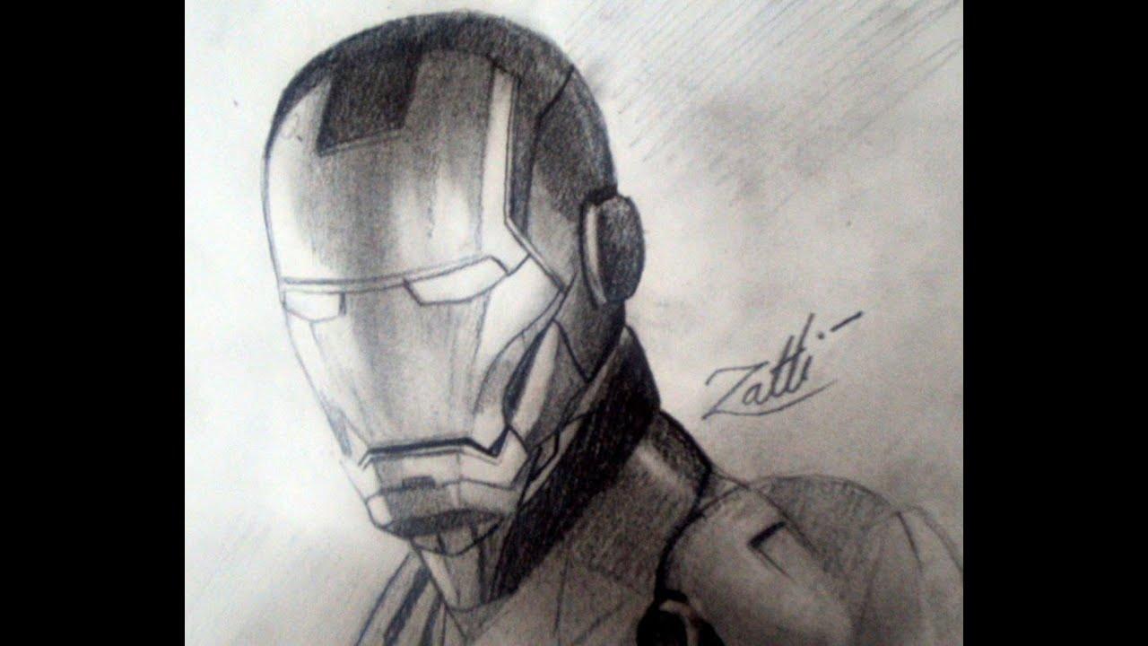 Homem De Ferro Desenho Youtube