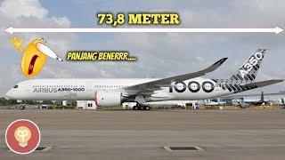 Gambar cover MENGENAL PESAWAT TERPANJANG AIRBUS A350-1000 BERMESIN GANDA DAN PERBEDAANNYA DENGAN A350-900