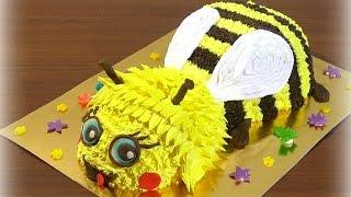 3 д Торт пчелка мастер класс Кремовые торты для детей