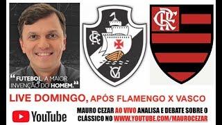 Tem LIVE domingo aqui no canal logo após Vasco x Flamengo