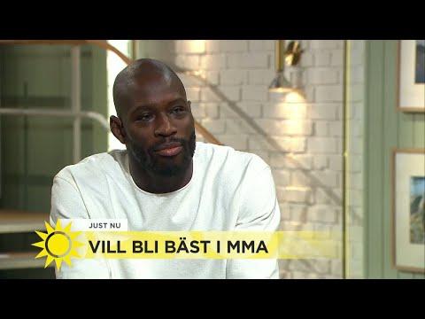 Han fick nedsatt syn vid 13 års ålder – nu vill han bli bäst i världen i MMA - Nyhetsmorgon (TV4)