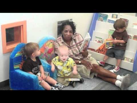Kacie Starr Triplett Visits Downtown Childrens Center