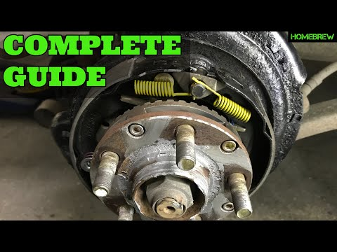 Subaru Rear Brake and Parking Brake Replacement – How To