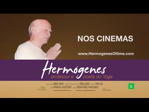 Trailer do filme Hérmogenes, Professor e Poeta do Yoga