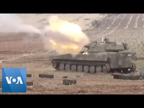 Fighting Between Syrian Army, Rebel Groups Intensifies