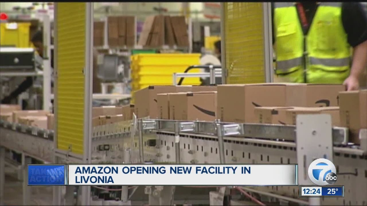 Amazon Opening Third Distribution Center In Metro Detroit