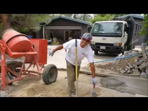 Woodland Hills Construction Remodel Timelapse Renovation Job # 6,012 Part # 1 by Shafran 2015