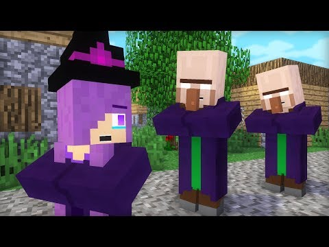 Witch & Villager Life IX - Minecraft Animation
