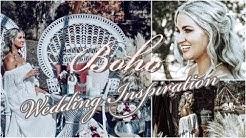 VINTAGE BOHO WEDDING INSPIRATION    RUSTIC WEDDING STYLED SHOOT 2019