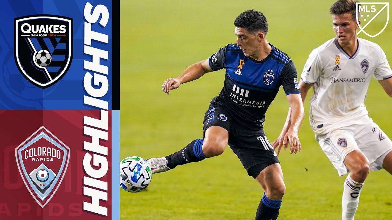 San Jose Earthquakes vs. Colorado Rapids | September 5, 2020 | MLS Highlights