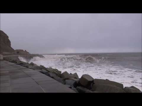 Scarborough storm tide surge 13th January 2017
