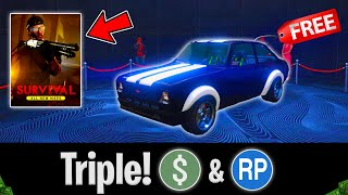 NEW GTA 5 ONLINE UPDATE OUT NOW! BRAND NEW SURVIVALS ARE NOW OUT! (DLC DROPPING SOON!!)