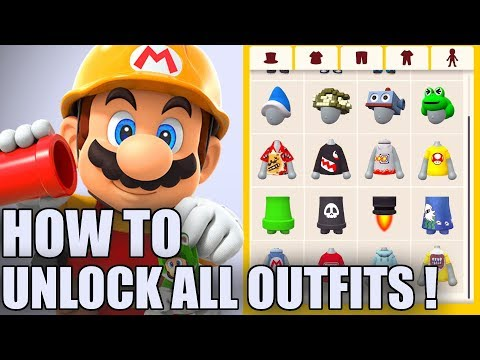 List of Unlockable Mii Maker Outfits - Super Mario Maker 2