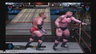 WWE: Smackdown Here Comes The Pain - Brock Lesnar vs Triple H